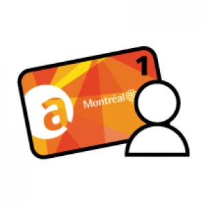Renouveler une (1) carte Accès Montréal
